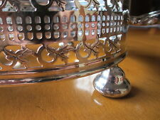 "Yeoman Silver Plated EPNS Plate Pot Stand Made in England 7"" diameter"