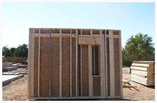Man Cave Garage Workshop Apartment  Panelized Precut Wood Garage Kit