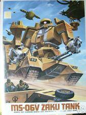 1/144 GUNDAM MSV NO.12 - MS-06V ZAKU TANK