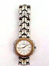 Seiko Womens Wristwatch 7N42-6070 SQ 50  Day Date Quartz Original Japan Watch