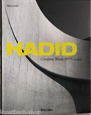 Fachbuch Zaha Hadid, Complete Works 1979-today, aktuelles Werkverzeichnis, NEU