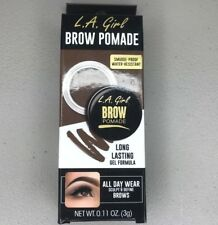 L.A. Girl Eye Brow Pomade Smudge-Proof Water-Resistant Gel (Soft Brown) GBP363