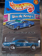 HOT WHEELS  LIMITED EDITION 67 PONTIAC GTO, VAN DE KAMP'S FISH-O-SAURS