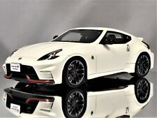 GT Spirit Nissan 370Z Fairlady Z Nismo Z34 2015 White Resin Car Model 1:18