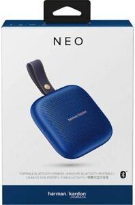 Harman Kardon Neo Portable Wireless Bluetooth Speaker Midnight Blue Phone Tablet