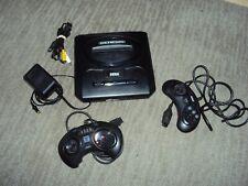 Sega Genesis Model 2 Console Bundle Lot Controller Power Supply Complete Working