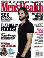 Men's Health Magazine Ashton Kutcher Flat Belly Foods Sex Best Body Bug Muscles