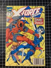 X-Force #11 Newsstand 1st appearance Domino First App white Pages High Grade