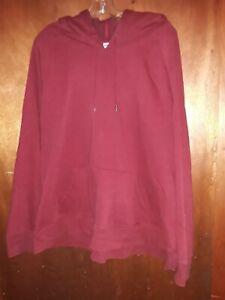 Men's Old Navy Hoodie Size XXL Red Sweatshirt Soft