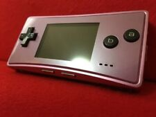 USED Nintendo GAME BOY micro GBM advance PURPLE only console F/S From Japan