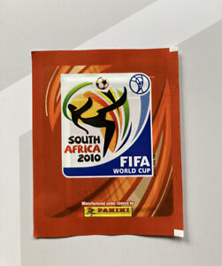 World Cup 2010 Panini Sticker Packet Bag WC South Africa 2010