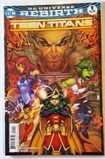Teen Titans #1 - First Print - Main Cover - New - DC Rebirth (WK4)
