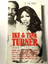 IKE & TINA TURNER  -  WORKIN' TOGETHER  - 3 CD BOXSET  NUOVO E SIGILLATO