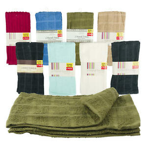 """New 2 Pack Hand Towel- 15""""x25"""""""