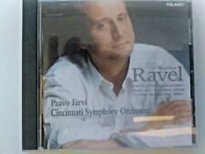 Cincinnati Symphony Orchestra and Paavo Jarvi - Ravel Orchestral Works Telarc CD