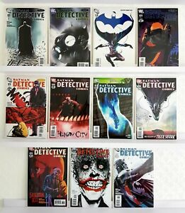 Job Lot Box Collectable DC Bundle Batman Detective Comics #871 - #880 STUNNING