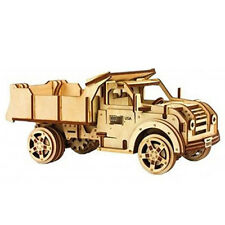TRUCK 3D Wooden Puzzles Mechanical Models Toy Gears, US Seller