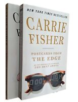 Carrie Fisher 2 Book Pack Postcards From The Edge Wishful Drinking Star Wars New