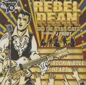 REBEL DEAN Rock 'n' Roll Heart CD - rock 'n' roll, rockabilly, NEW