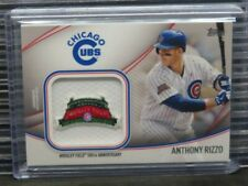 2020 Topps Anthony Rizzo Jumbo Jersey Sleeve Patch #JSES-AR Cubs E610