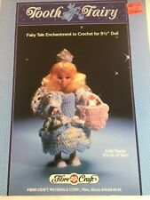 Crochet A Tooth Fairy Costume For 9 1/2 Inch  Fashion Dolls - Fibre Craft