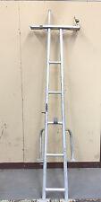 "7ft 10"" Custom Poling Platform / Navigation Tower w/tow bar Aluminum Marine Boat"
