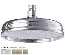 K-10122-CP_Kohler Traditional Design MasterClean Rain Showerhead w/78 NozzlesNIB