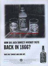 jack daniels advert  jack daniels taste in 1866 2001 magazine advert 1777