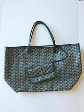 Authentic Goyard Gray Grey St Louis Tote GM