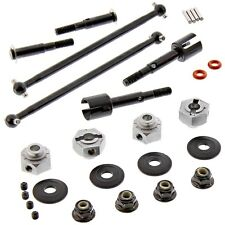 HPI 1/10 E-Firestorm 10T Flux DRIVE SHAFTS, AXLES, 12mm HEX WHEEL HUBS PINS NUTS