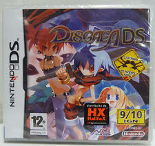 DISGAEA DS - NINTENDO DS - NUOVO NEW - PAL EUROPEAN VERSION GAME IN ENGLISH