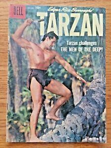 TARZAN #109 NOV-DEC1958  DELL COMICS SILVER AGE  EXCELLENT+   GORDON SCOTT COVER