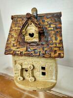 Windy Meadows Pottery VTG 70s Village Mini Cottage Collection Jan Richardson
