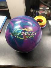 New listing 15lb NIB Radical CONSPIRACY THEORY Bowling Ball Undrilled.
