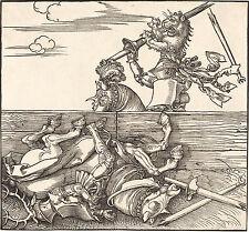 Albrecht Durer: The Italian Joust - Fine Art Print