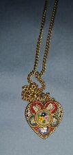 vintage Neclace Heart Shaped Itilian