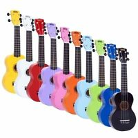 Mahalo Soprano Ukulele Uke MR1 2511 Fitted With Aquila Strings & Bag RRP £29.99