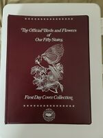 The Official Birds and Flowers of Our Fifty States First Day Cover Collection US