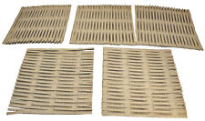 3455 Pk5 Cardboard Shred Mat Bird Parrot Toy Part craft parrot toys cages place
