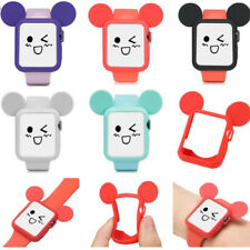 Cute Cartoon Mickey Mouse Soft Silicone Case fr Apple Watch Series 4 3 2 1 Cover