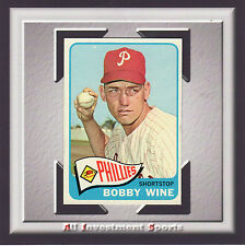 1965 Topps BOBBY WINE #36 NM-MT *great baseball card for your set* SD