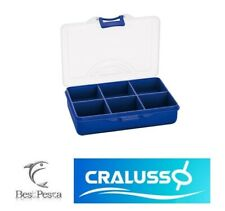CRALUSSO TACKLE BOX 6 COMPARTMENTS