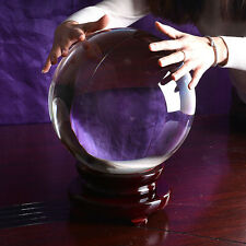 250MM Huge Crystal Ball Sphere Photograpy Props Meditation Ball Home Decoration