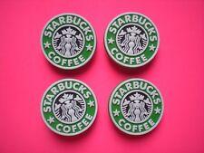 Jibbitz Croc Clog Shoe Charm Plug Accessorie Bracelet WristBand Starbucks Coffee