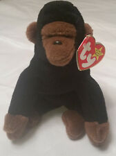 TY Beanie Babies, Congo the gorilla (retired 1998) - red tags