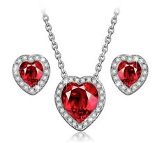 LADY COLOUR - Passion of Love - Jewellery Set for Women with Crystals from Swaro