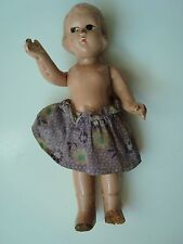 Vintage 1940S Era Composition Mini Doll 6 3/8'' High