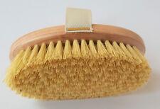 Professional Dry Skin Body Brush with Cactus Bristles Hard Strength