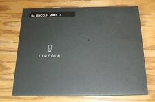 Original 2006 Lincoln Mark LT Portfolio Sales Brochure 06