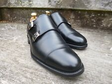 CHEANEY DOUBLE MONK STRAP – BLACK – UK 6 – ATTLEE – EXCELLENT CONDITION
